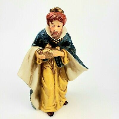 Wise Men Figure Replacement for Heritage Nativity Set Hand Painted Porcelain