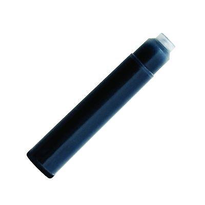 40 Fountain Pen Ink Cartridge Refills BLACK + GIFT