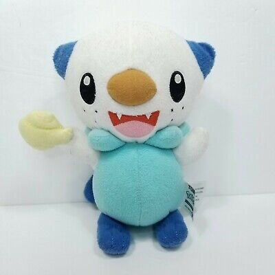 Oshawott Pokemon Plush Stuffed Pocket Monster Tomy Holding Shell 7""