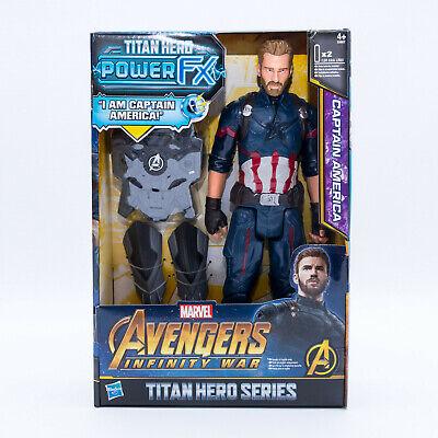 Hasbro E0607 Marvel Avengers Infinty War Titan Hero Serie Captain America Figur