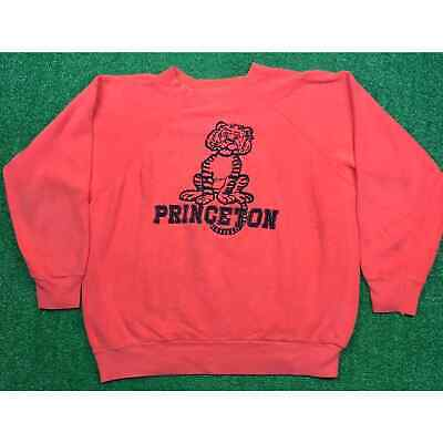 Vintage 70s Princeton University Tigers Sweatshirt USA Made