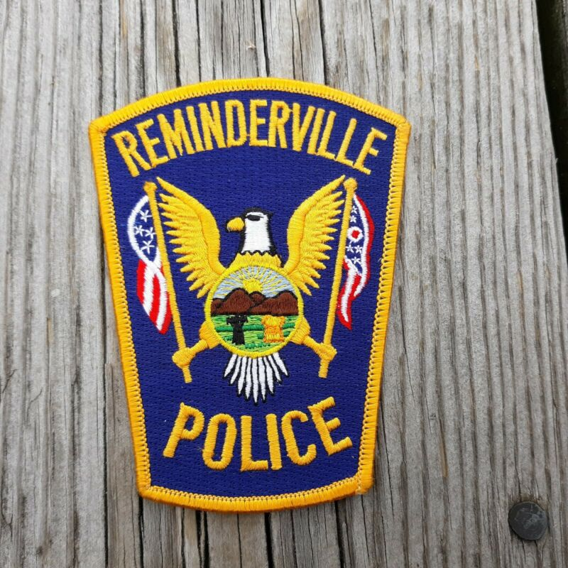 """Reminderville OH Ohio 4.75"""" Police Patch"""