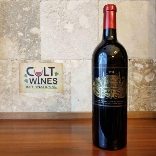 JS 97 pts! 2012 Chateau Palmer Bordeaux wine, Margaux