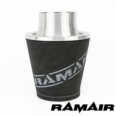 Ramair Universal Air Filter 60Mm Od Neck Aluminium Intake Silver