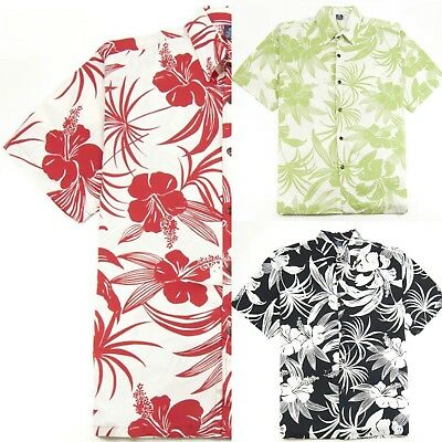 - Hibiscus Collection Men's Hawaiian Aloha Shirt - Hibiscus Print