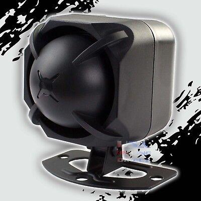 Car Alarm Security Loud Siren 6 Multi Tone Siren Compact Design Marine Grade Usa