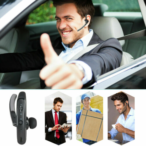 Wireless Bluetooth Headset Stereo Headphone Noise Cancelling Calling Microphone - $18.99