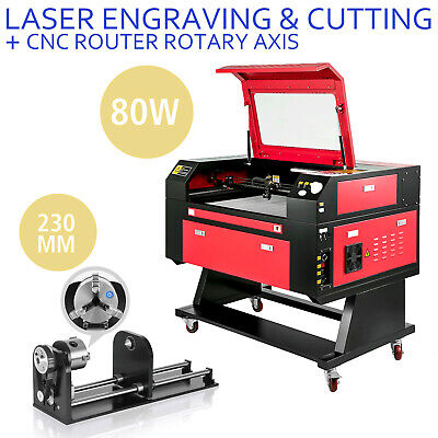80w Laser Engraver Machine Rotary Axis Co2 Laser Engraving Machine 700500mm