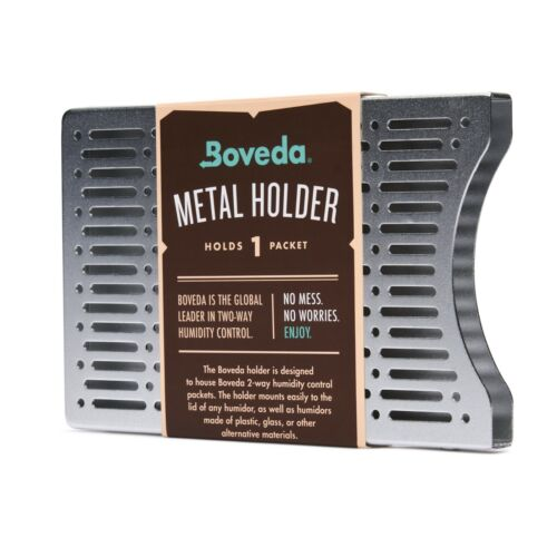 Boveda Aluminum Holder for Humidor | Use with One (1) Size 60 Boveda | 1-Count