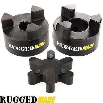 1-12 X 78 Shaft Flexible Jaw Coupler Rubber Spider L100 Lovejoy Coupling