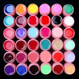 36-Pcs-Mix-Colors-Solid-Pure-UV-Builder-Gel-Set-for-Acrylic-Nail-Art-Tips-Pink