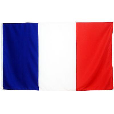Fahne Frankreich Querformat  90 x 150 cm französiche Hiss Flagge Nationalflagge