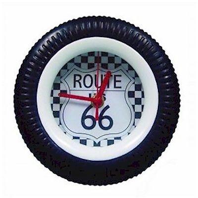 Yellow Bike Rubber Tire Wall Clock ID 96832