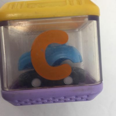 Fisher Price Peek A Blocks Letter C Car Alphabet Replacement Block