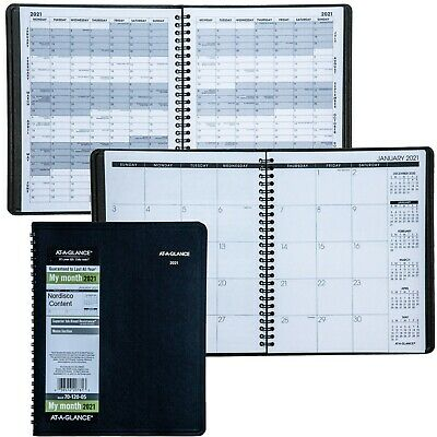 2021 At-a-glance 70-120 70-120-05 Monthly Planner 6-78 X 8-34