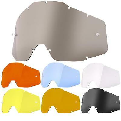 100% Prozent Scheibe Racecraft Accuri Strata Brille Glas Goggle Anti Fog  Lense