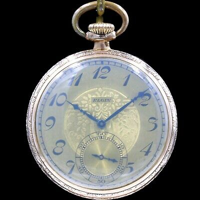10k Gold 1925 ELGIN 15 Jewel Mechanical Pocket Watch 12s Grade 315 Antique