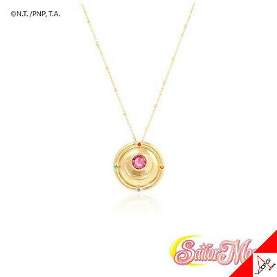 OST X SAILOR MOON Change Brooch Silver Necklace Limited Edition -100% Authentic