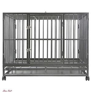 Large Dog Crate Wire Smithbuilt Crates Metal Large Kennel Heavy Duty Outdoor NEW