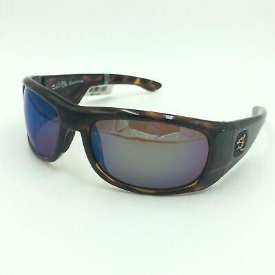 Salt Life Captiva Men's Sport Sunglasses Tortise Frames w/ Copper Green (Salt Life Sunglasses)