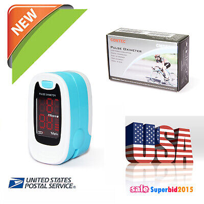 Finger Tip Pulse Oximeter Spo2 Saturation Oxymeter O2 Monitor Contec M Fda
