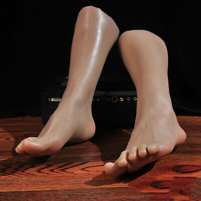Display Lifelike Feet Mannequin Left Legs Female Or Model One Right Silicone