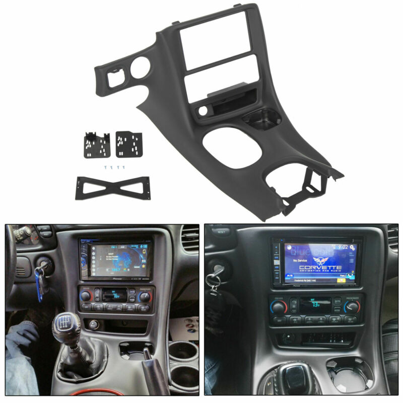 Double Din Dash Installation Kit For 1997-2004 Chevy Corvette C5