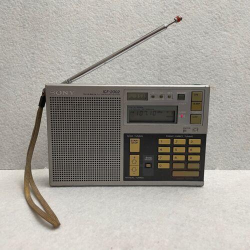 Sony ICF-2002 Radio - Works! But it