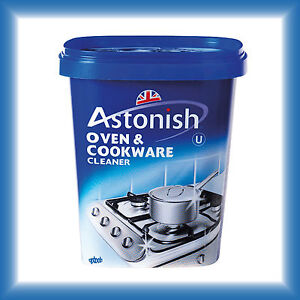 astonish oven cookware cleaner 500g enamel porcelain