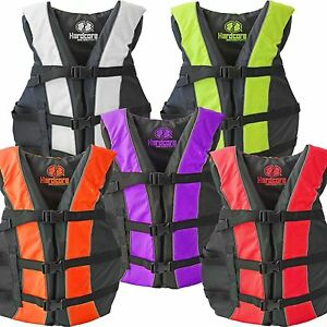 High-Visibility-Neon-Adult-amp-Kids-Life-Jacket-PFD-USCG-Type-III-Ski-Vest-Fishing