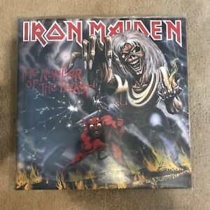 Iron Maiden - Number of the Beast. Gatefold Vinyl Picture Disc.