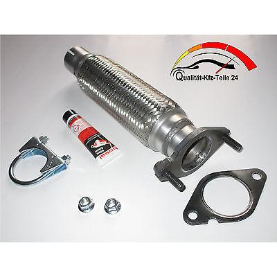 Flexrohr Hosenrohr Katalysator Reparatur ohne Schweißen -- Ford Focus 1.4 - 1.6