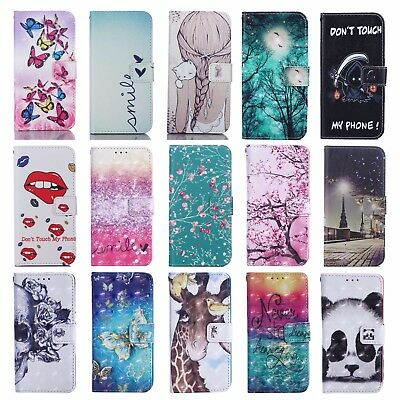 FLIP WALLET MAGNETIC CASE STAND COVER FOR APPLE IPHONE 11 XR XS Max 8 7 5S 6 SE