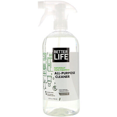 Better Life All-Purpose Cleaner Unscented 32 fl oz 946 ml (Best Green All Purpose Cleaner)