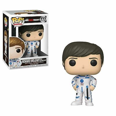 HOWARD WOLOWITZ IN SPACE SUIT #777 Funko POP Figure Serie The Big Bang Theory