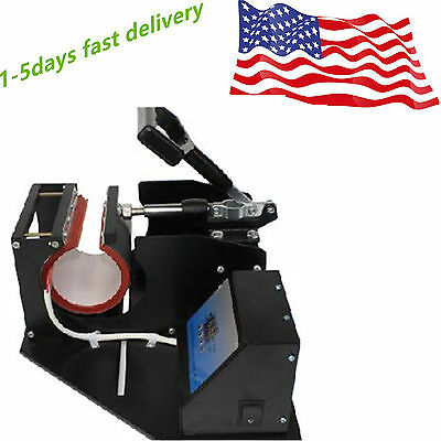 Dual Display Heat Press Transfer Sublimation Machine For Cup Coffee Mug Quality