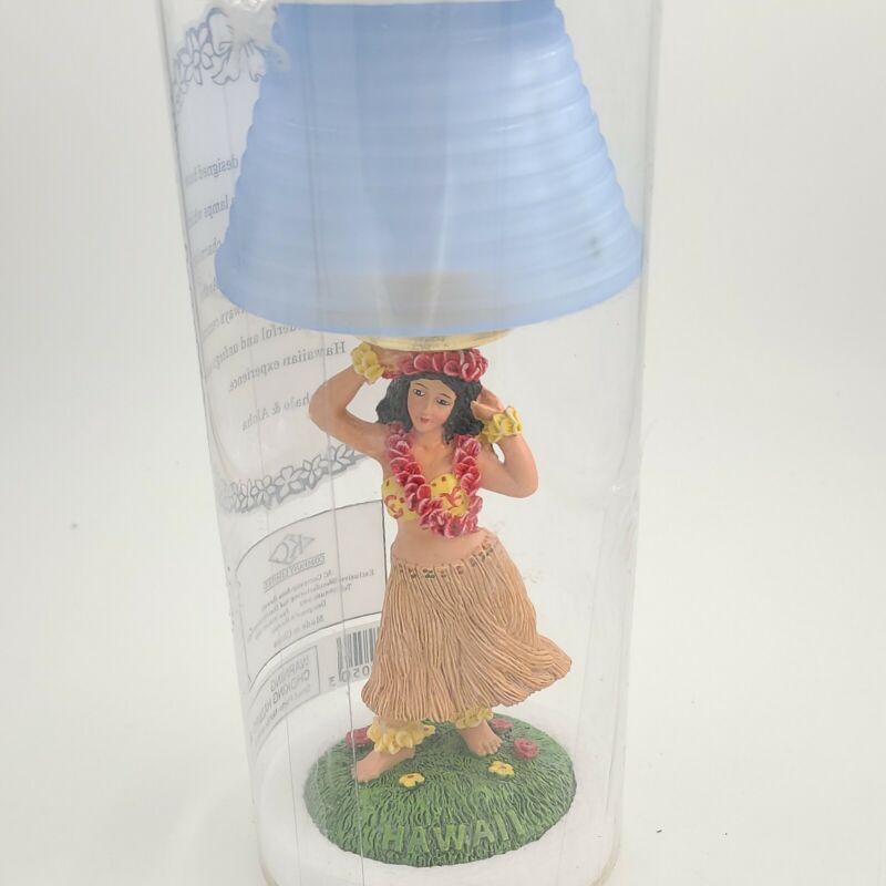 """Hawaiian Hula Girl 6.5"""" KC Co Hawaii lamp. New In Package"""