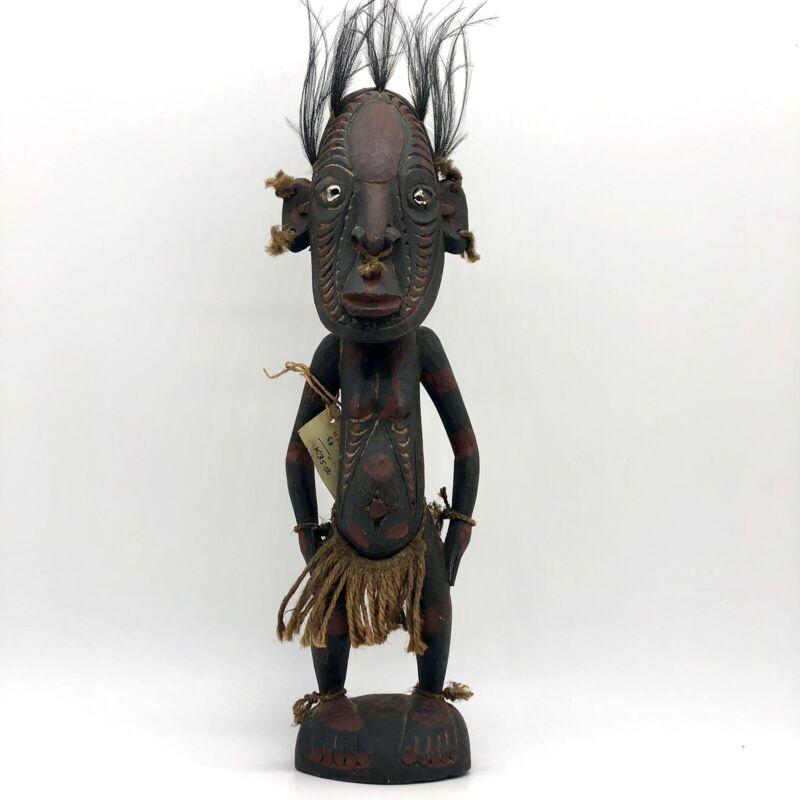 "20"" Vtg Ancestor Female figure Mindimbit Papua New Guinea Sepik Spirit Tribal"