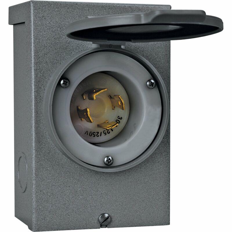 Reliance Raintight Power Inlet Box-30 Amp #PB30