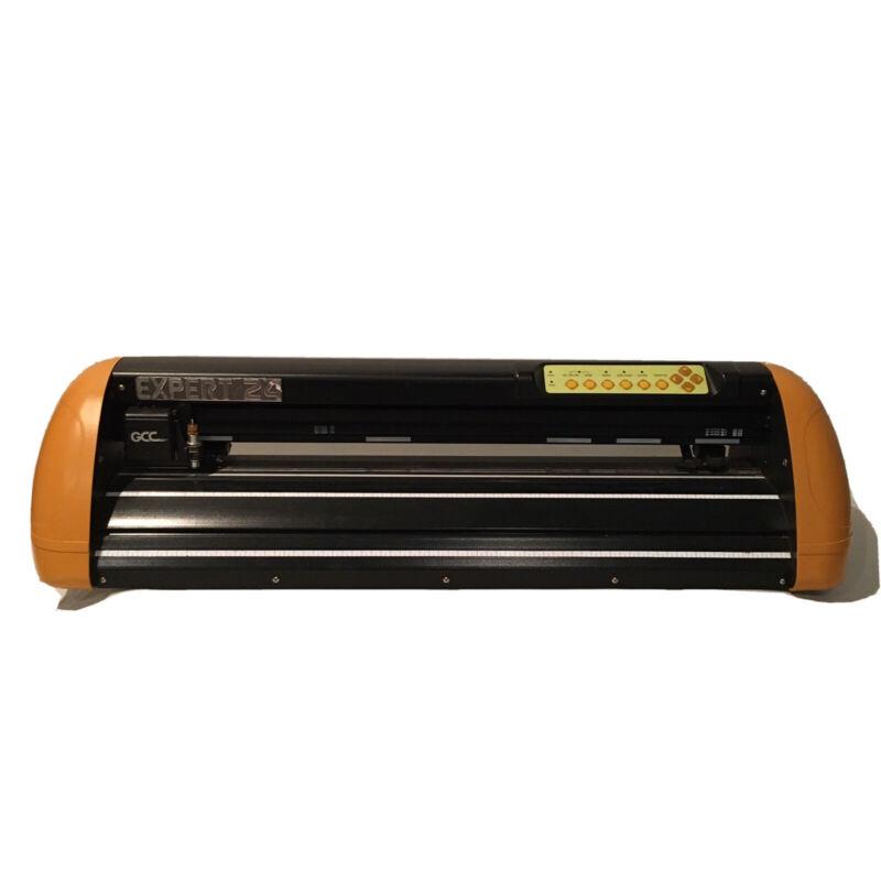 GCC Expert 24 Vinyl Cutter Plotter For Decal Sticker & T-Shirt Making A++