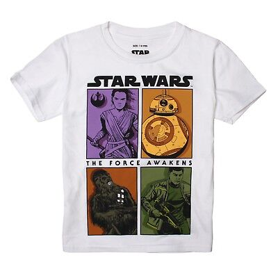Star Wars Boys - Rebels Panels - T-Shirt - White