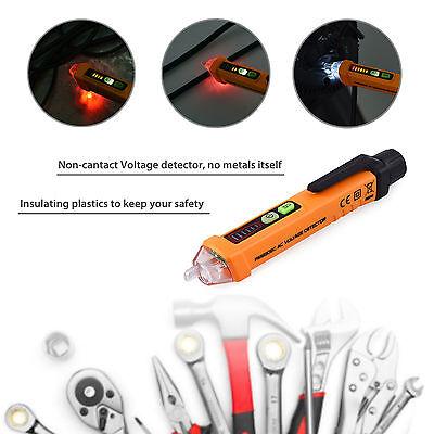 Electric Non-contact Voltage Tester Pen Volt Alert Detector Sensor Pen 12-1000v