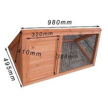 Brand new one story Wooden Triangle Rabbit Hutch p032 Keysborough Greater Dandenong Preview