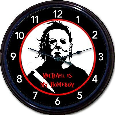 lasher film Horror Halloween Homeboy Movie Wall Clock 10