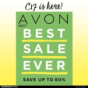 Avon order going in - candles, mascaras, soaps and more