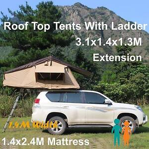 New Arrival Ripstop 280g canvas 4wd roof top tent with ladder Riverwood Canterbury Area Preview