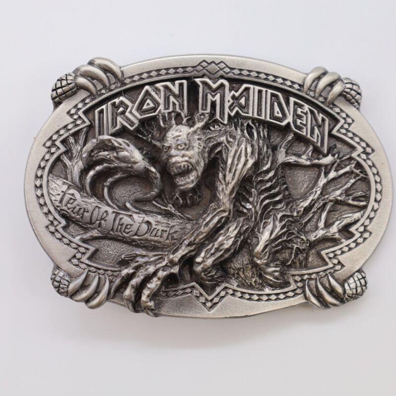Iron Maiden belt buckle-Fear of the Dark, metal