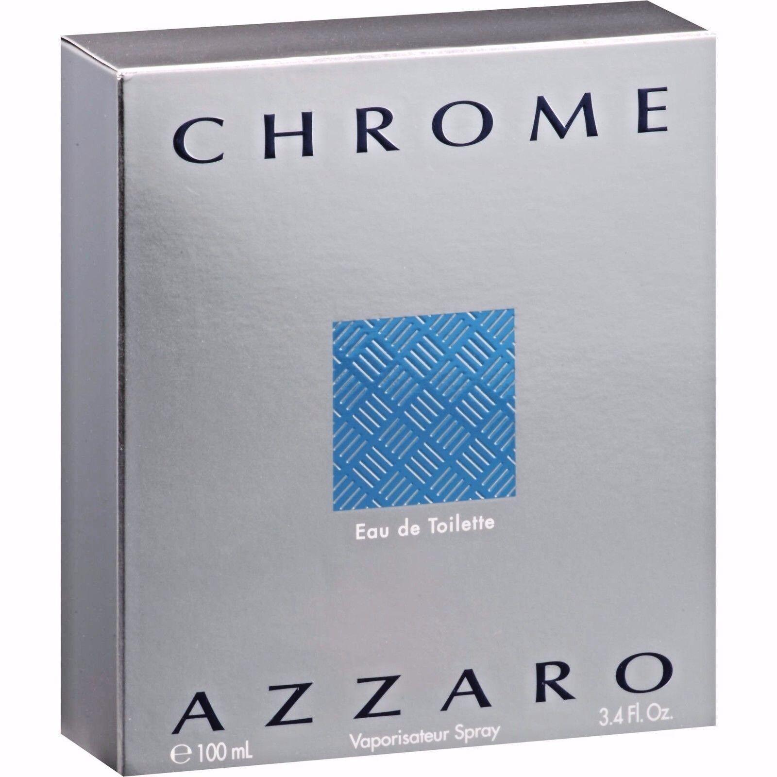 Azzaro CHROME by Azzaro Perfume for Men 3.3 oz / 3.4 oz 100 ml SEALED COLOGNE