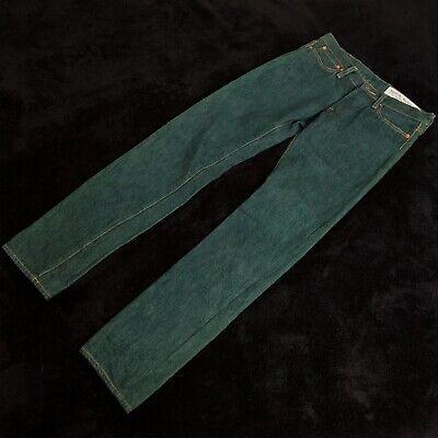Kapital Green Raw Denim Skinny Fit Jeans  Size 28