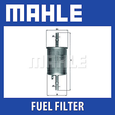 Mahle Fuel Filter KL573   Fits Chevrolet All Models   Genuine Part